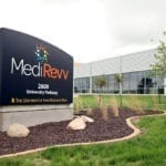 MediRevv Building Sign