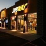 Dunn Brother's Subway at Night