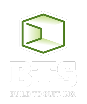 BTS Build to Suit Logo White