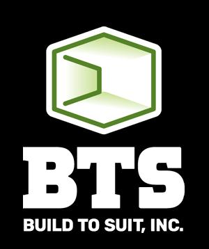 BTS Build to Suit Logo White